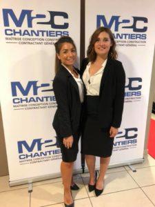 Hôtesses AF Events pour M2C Chantiers